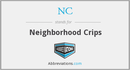 NC - Neighborhood Crips