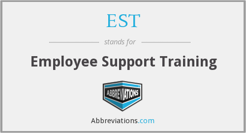 EST - Employee Support Training