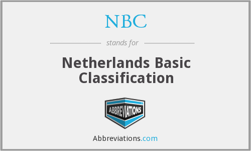 NBC - Netherlands Basic Classification