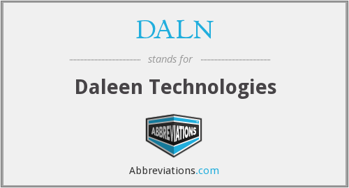 What does DALN stand for?