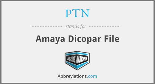 PTN - Amaya Dicopar File