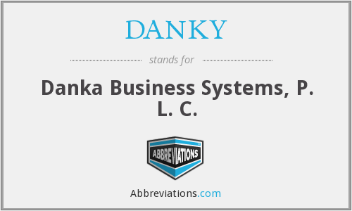 DANKY - Danka Business Systems, P. L. C.