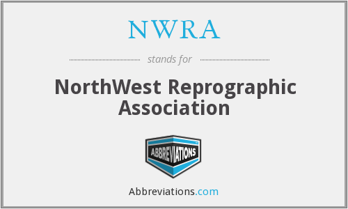 NWRA - NorthWest Reprographic Association