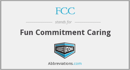 FCC - Fun Commitment Caring