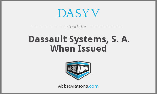 What does DASYV stand for?