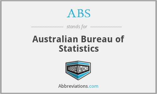 ABS - Australian Bureau of Statistics