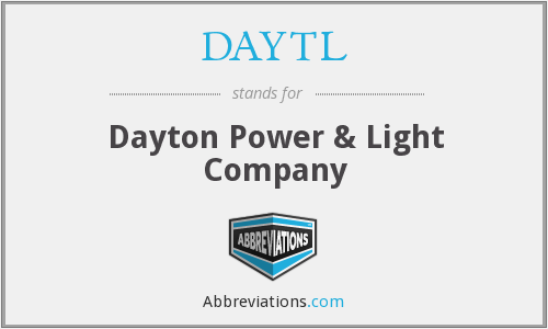 What does DAYTL stand for?