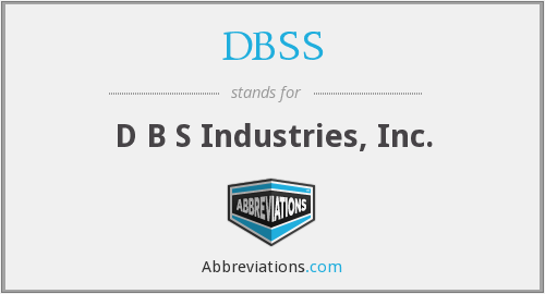 What does DBSS stand for?