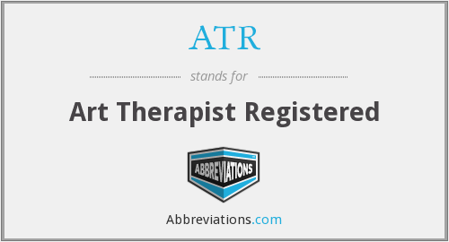 ATR - Art Therapist Registered