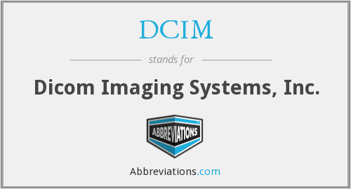 DCIM - Dicom Imaging Systems, Inc.