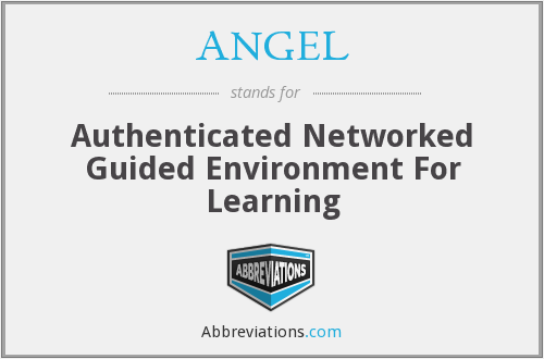 ANGEL - Authenticated Networked Guided Environment For Learning