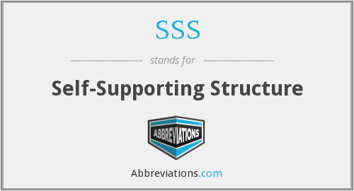 SSS - Self-Supporting Structure