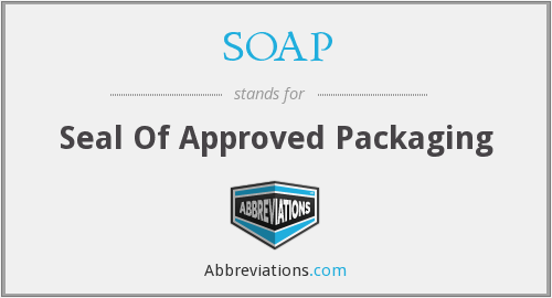 SOAP - Seal Of Approved Packaging