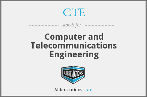 CTE - Computer and Telecommunications Engineering