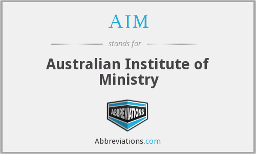 AIM - Australian Institute of Ministry