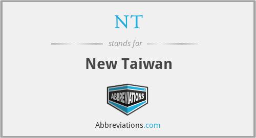 NT - New Taiwan