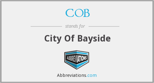 COB - City Of Bayside