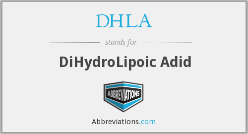 What does DHLA stand for?