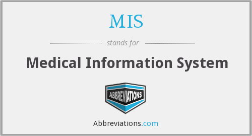 MIS - Medical Information System