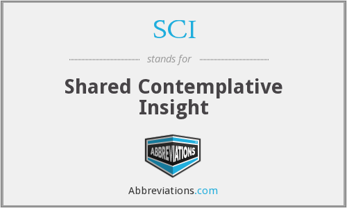 SCI - Shared Contemplative Insight
