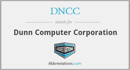 DNCC - Dunn Computer Corporation