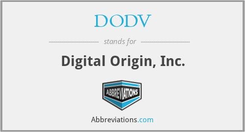 DODV - Digital Origin, Inc.