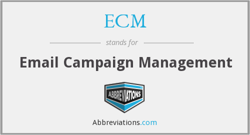 ECM - Email Campaign Management