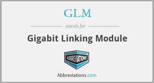 GLM - Gigabit Linking Module