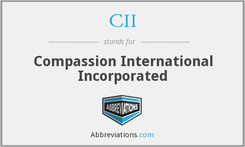 CII - Compassion International Incorporated