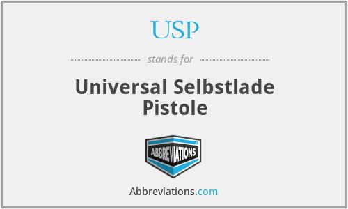 USP - Universal Selbstlade Pistole
