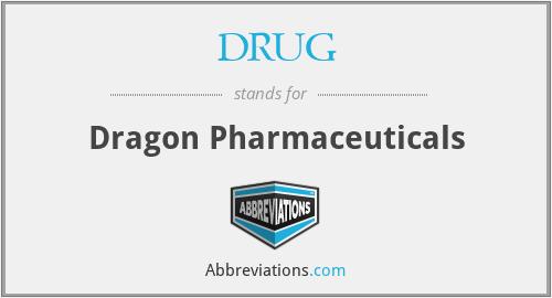 DRUG - Dragon Pharmaceuticals