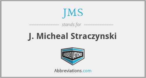 JMS - J. Micheal Straczynski