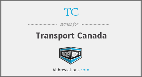 TC - Transport Canada