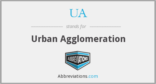 What does agglomeration stand for?