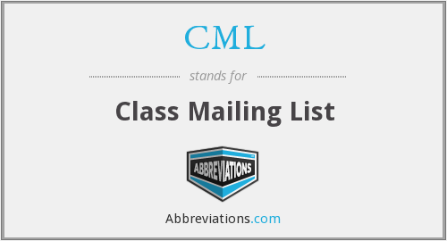 CML - Class Mailing List