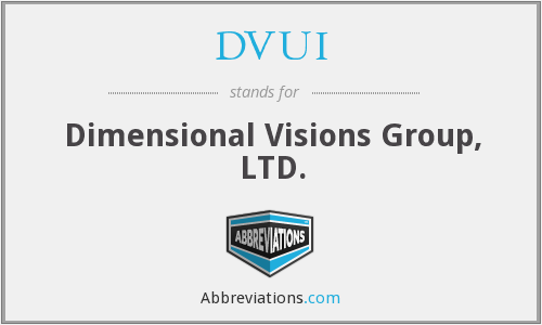 What does DVUI stand for?