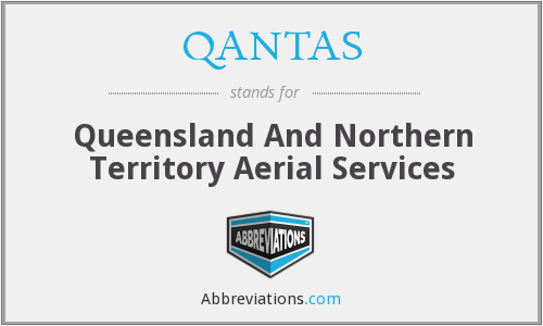 QANTAS - Queensland And Northern Territory Aerial Services