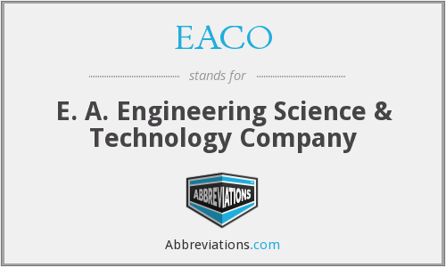What does EACO stand for?
