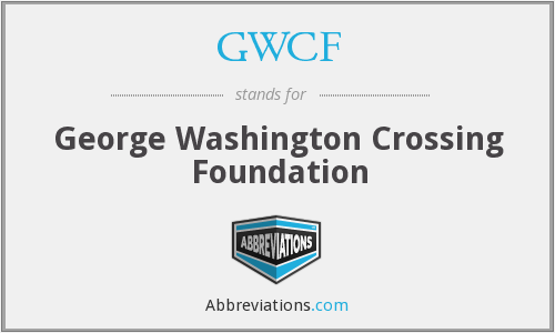 What does GWCF stand for?