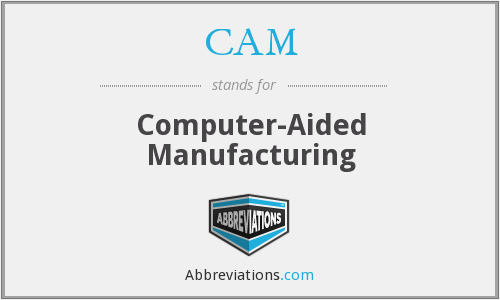 CAM - Computer-Aided Manufacturing