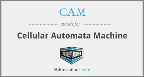 CAM - Cellular Automata Machine