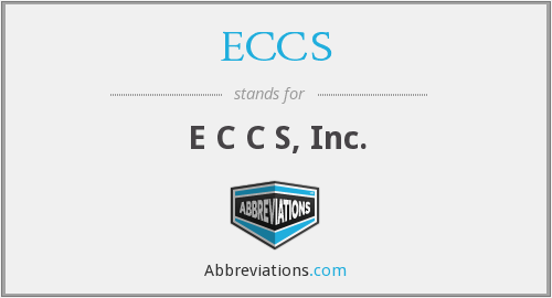 What does ECCS stand for?