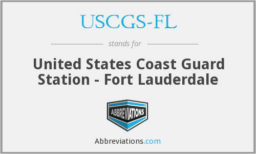 USCGS-FL - United States Coast Guard Station - Fort Lauderdale