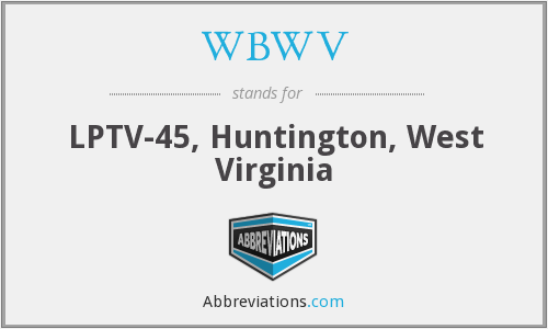 What does WBWV stand for?