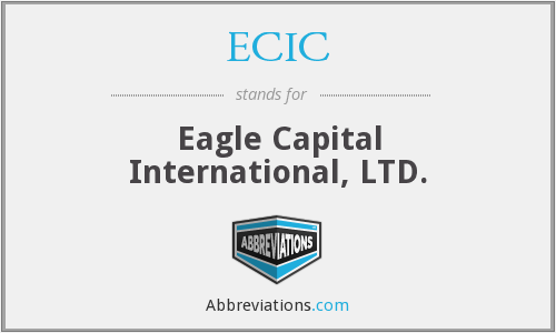 ECIC - Eagle Capital International, LTD.