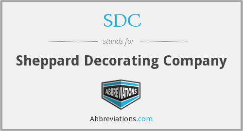 SDC - Sheppard Decorating Company