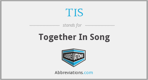 TIS - Together In Song