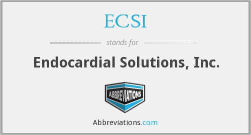 What does ECSI stand for?