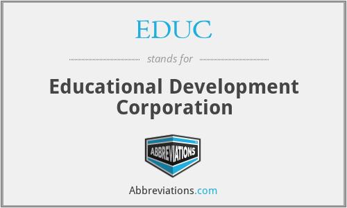 EDUC - Educational Development Corporation