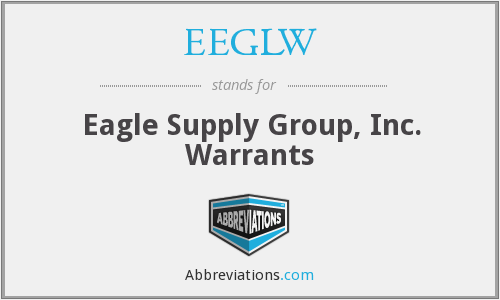 What does EEGLW stand for?